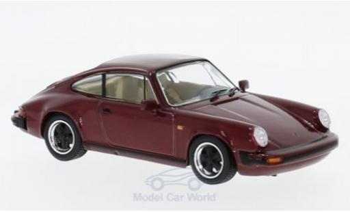 Porsche 930 SC 1/43 SpecialC 111 Carrera 3.2 rouge 1984 Collection miniature