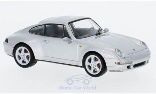 Porsche 993 4S 1/43 SpecialC 111 911 Carrera grise 1995 911 Collection miniature