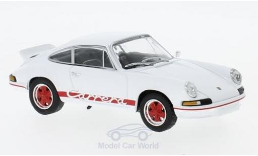 Porsche 911 SC 1/43 SpecialC 111 Carrera RS white 1973 Collection diecast model cars
