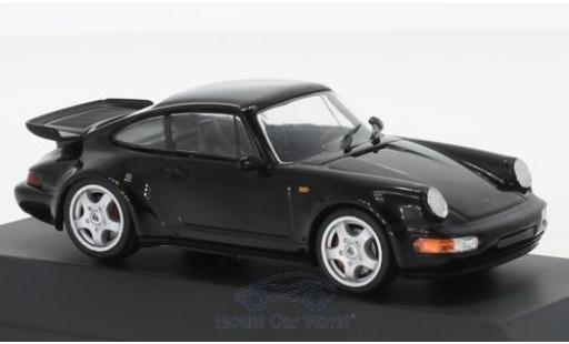 Porsche 911 1/43 SpecialC 111 Turbo noire 1990 Collection miniature