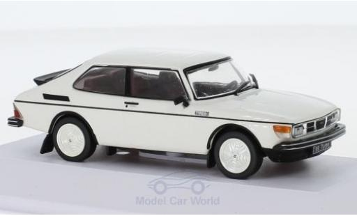 Saab 99 1/43 SpecialC 113 Turbo Prougeotype blanche 1977 miniature