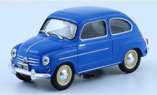 Fiat 600 1/43 SpecialC 120 D blue 1962 diecast model cars