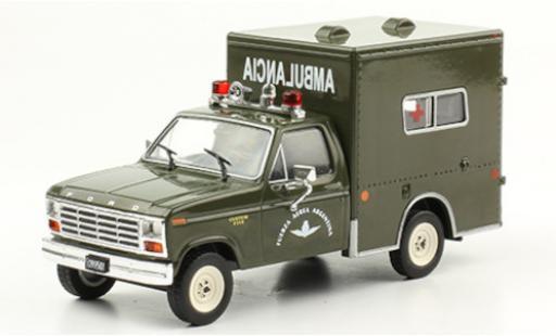 Ford F-1 1/43 SpecialC 120 50 Custom Ambulance Fuerza Aerea Argentina 1982 Ambulancia diecast model cars