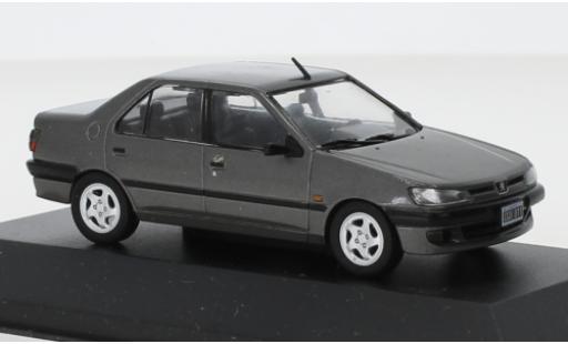 Peugeot 306 1/43 SpecialC 120 XRd metallise grise 1998