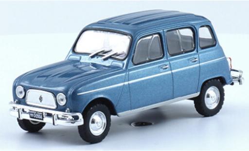 Renault 4 1/43 SpecialC 120 L metallise bleue 1968 miniature