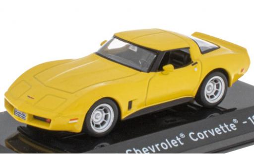 Chevrolet Corvette 1/43 SpecialC 121 (C3) yellow 1980 diecast model cars