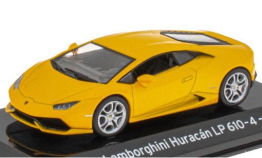Lamborghini Huracan 1/43 SpecialC 121 LP610-4 metallise yellow 2014 diecast model cars
