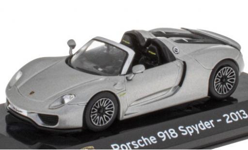 Porsche 918 1/43 SpecialC 121 Spyder metallise grise 2013