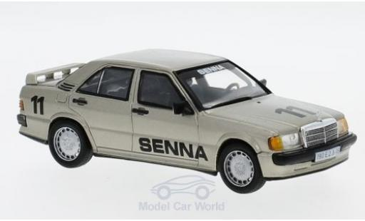 Mercedes 190 1/43 SpecialC 16 E 2.3-16V No.11 1984 A.Senna ohne Vitrine diecast model cars