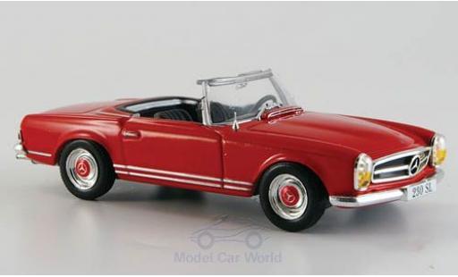 Mercedes 230 1/43 SpecialC 16 SL (W113) rouge 1963 ohne Vitrine miniature