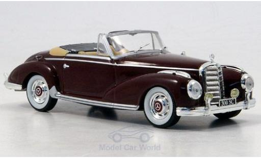 Mercedes 300 1/43 SpecialC 16 S Roadster (W188) rouge 1952 ohne Vitrine miniature