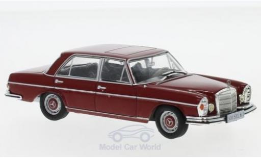 Mercedes 300 1/43 SpecialC 16 SEL 6.3 (W109) rouge 1968 ohne Vitrine miniature