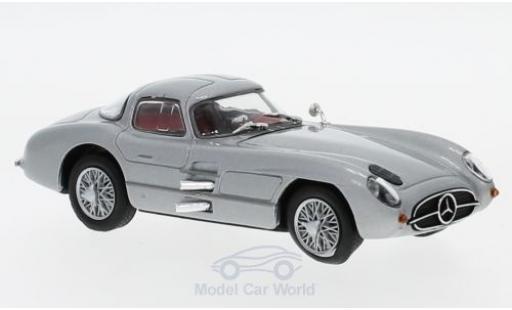 Mercedes 300 1/43 SpecialC 16 SLR Uhlenhaut-Coupe (W196S) grise 1955 ohne Vitrine miniature