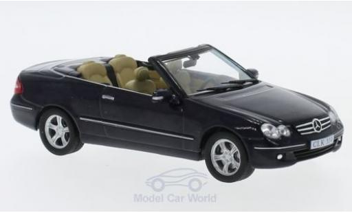 Mercedes CLK 1/43 SpecialC 16 350 (A209) bleue 2005 ohne Vitrine miniature