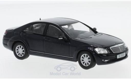 Mercedes Classe S 1/43 SpecialC 16 S 500 (W221) bleue 2005 ohne Vitrine miniature