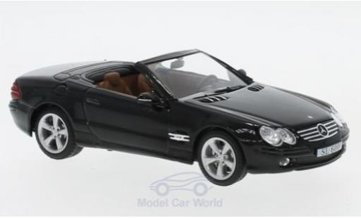 Mercedes Classe SL 1/43 SpecialC 16 SL 600 (R230) noire 2003 ohne Vitrine miniature
