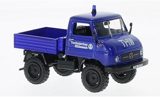 Mercedes Unimog 1/43 SpecialC 66 U 411 THW sans Vitrine miniature