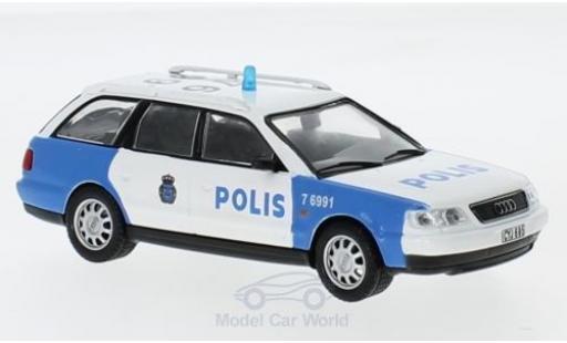 Audi A6 1/43 SpecialC 80 Avant Polis ohne Vitrine miniature