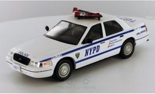 Ford Crown 1/43 SpecialC 80 Victoria NYPD ohne Vitrine miniature