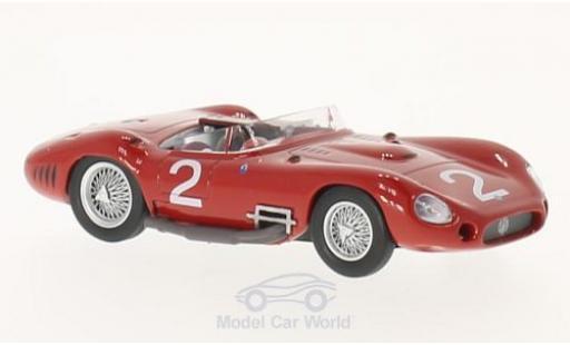 Maserati 450 1/43 SpecialC 89 S No.2 GP Venezuela 1957 J.Behra/S.Moss/H.Sc ohne Vitrine