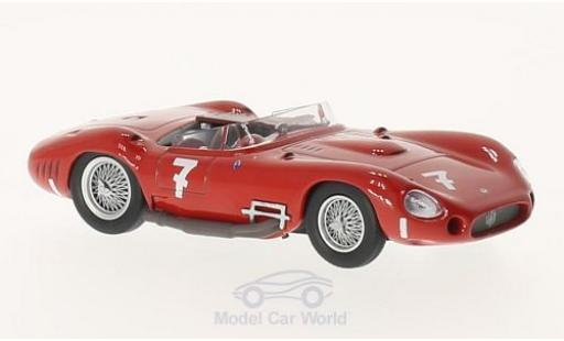 Maserati 450 1/43 SpecialC 89 S No.7 GP Schweden 1957 J.Behra/S.Moss ohne Vitrine miniature
