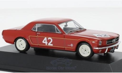 Ford Mustang 1/43 SpecialC 92 No.42 Weybridge Engineering Co. BTCC 1965 R.Pierpoint miniature
