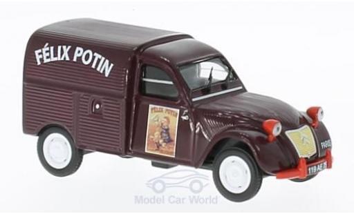 Citroen 2CV 1/43 SpecialC 93 Felix Potin mit Figur diecast model cars