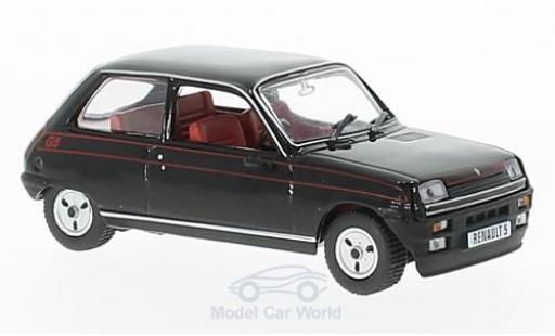 Renault 5 1/43 SpecialC 94 Gordini schwarz 1982 ohne Vitrine modellautos