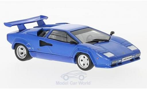 Lamborghini Countach LP 400 1/43 SpecialC 98 LP 400 S bleue 1978 miniature