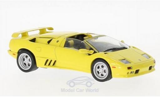Lamborghini Diablo 1/43 SpecialC 98 Roadster yellow 2000 diecast