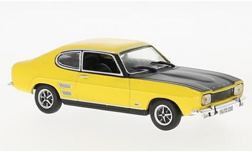 Ford Capri 1/43 SpecialC 99 MKI 1700 GT jaune/noire 1969 sans Vitrine miniature