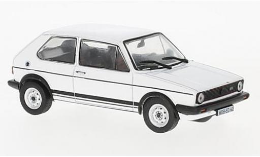 Volkswagen Golf 1/43 SpecialC 99 I GTI blanche 1980 sans Vitrine miniature
