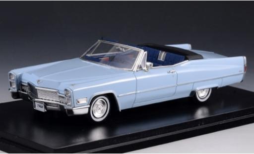 Cadillac Deville 1/43 Stamp Models DeVille Convertible blue 1968 Verdeck geöffnet diecast model cars