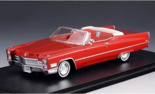 Cadillac Deville 1/43 Stamp Models DeVille Convertible red 1968 Verdeck geöffnet diecast model cars