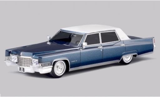 Cadillac Fleetwood 1/43 Stamp Models 60 Special Brougham metallise blue/matt-white 1969