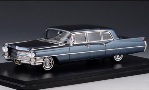 Cadillac Fleetwood 1/43 Stamp Models 75 Limousine metallise blue 1964 diecast model cars