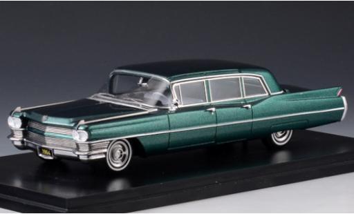 Cadillac Fleetwood 1/43 Stamp Models 75 Limousine metallise green 1964 diecast model cars