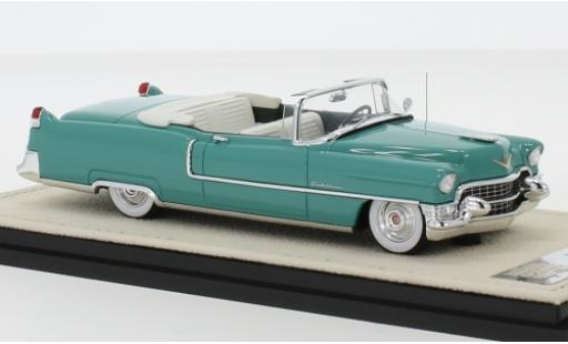 Cadillac Series 62 1/43 Stamp Models Convertible verte 1955 Verdeck ouvert miniature