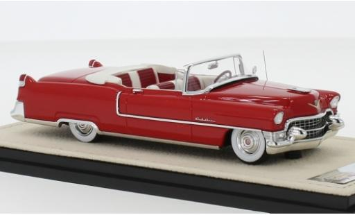 Cadillac Series 62 1/43 Stamp Models Convertible rouge 1955 Verdeck ouvert miniature