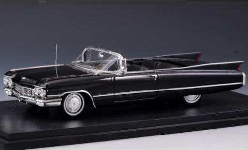 Cadillac Series 62 1/43 Stamp Models Convertible black 1960