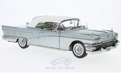 Buick Limited 1/18 Sun Star Convertible grise 1958 geschlossen miniature