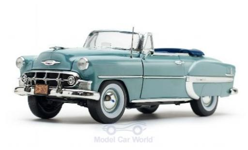 Chevrolet Bel Air 1/18 Sun Star Convertible bleue 1953 miniature