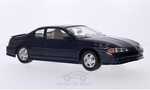 Chevrolet Monte Carlo 1/18 Sun Star SS dunkelblau 2000 modellautos