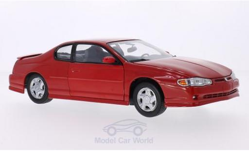 Chevrolet Monte Carlo 1/18 Sun Star SS rouge 2000 miniature