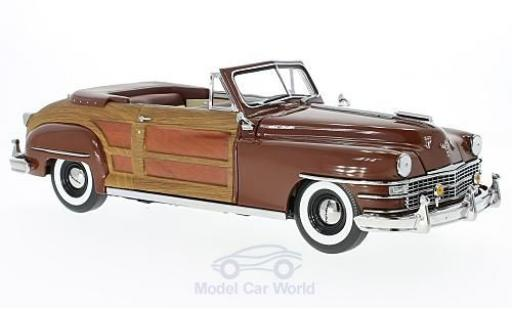 Chrysler Town & Country 1/18 Sun Star marron/Holzoptik 1948 miniature