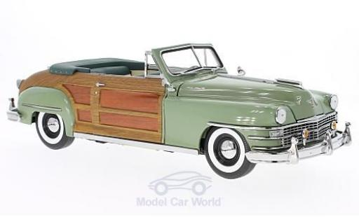 Chrysler Town & Country 1/18 Sun Star oliv/Holzoptik 1948