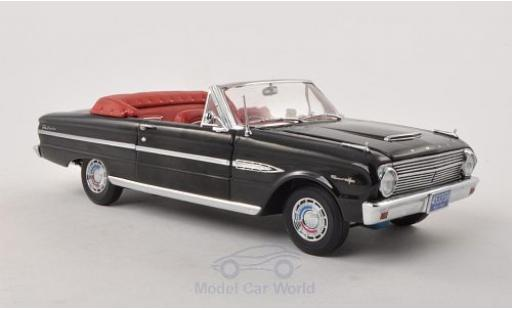 Ford Falcon 1/18 Sun Star Convertible noire 1963 offen miniature