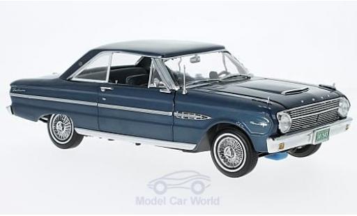 Ford Falcon 1/18 Sun Star HardTop metallise bleue 1963 ohne Vitrine miniature