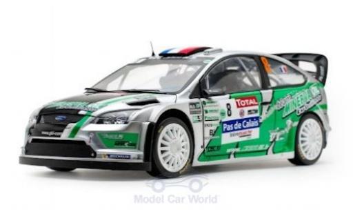 Ford Focus 1/18 Sun Star RS WRC No.8 Rally Touquet 2012 J.-C.Beaubelique/C.Hugonnot miniature