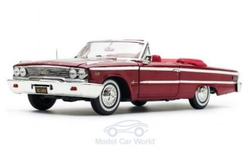 Ford Galaxy 1/18 Sun Star Galaxie 500XL Convertible metallise marron 1963 miniature